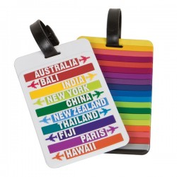 Set of 2 Luggage Tags - Hot Spots